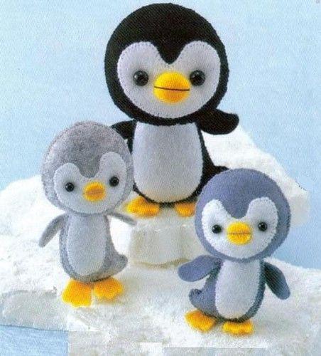 Poder nas mãos: Pinguins de Feltro         normadutra