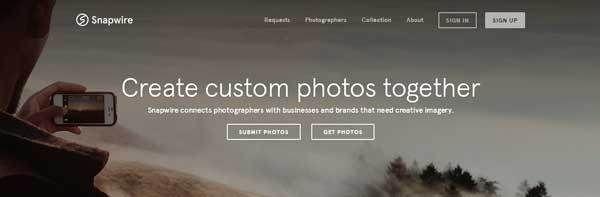 Snapwire-世界に写真素材を販売できる無料アプリ