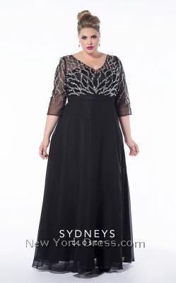 Moda Estilo Y Distinción Para Gorditas: Elegantes Vestidos de Fiesta -  Tallas Especiales ...
