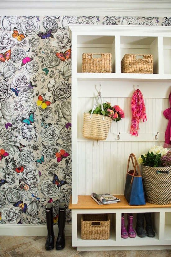 live free office wallpapers free office wallpapers. Butterfly Printed Wallpaper Adds Whimsy And Levity To The Mudroom At Back Of Fashion Stylist Naina Singla\u0027s House. Tour Rest Home. Live Free Office Wallpapers