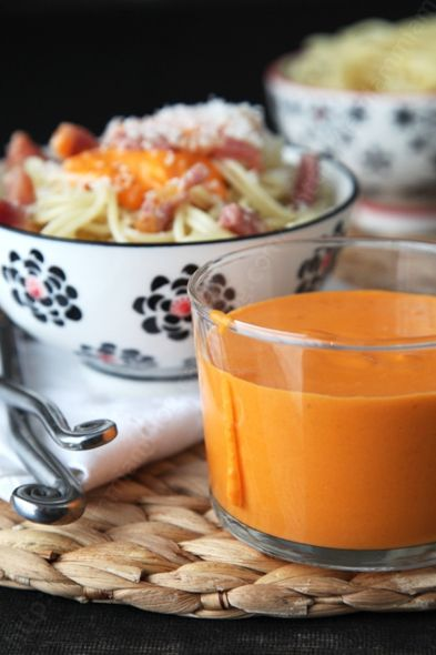 Sauce onctueuse tomate fromage pour pâtes