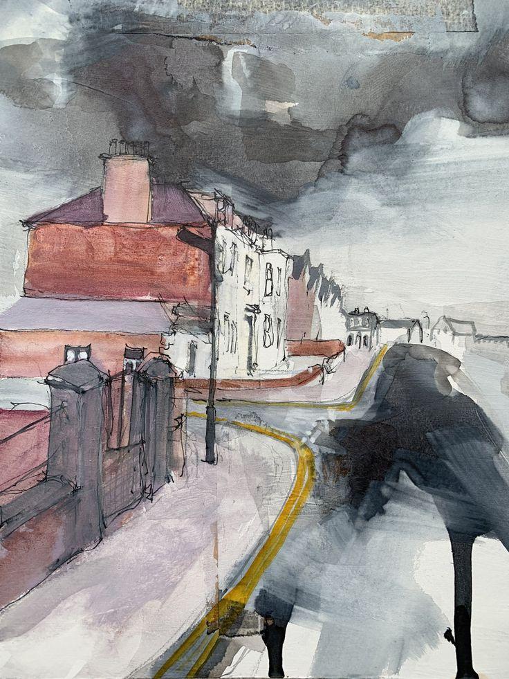 Ann Cowan artist Landscape paintings, Cityscape, Urban