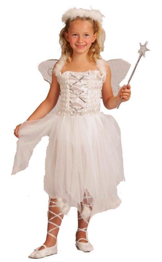 """Engelenprinsessenpak voor kleine meisjes - Kinderkostuums - 104-116"""