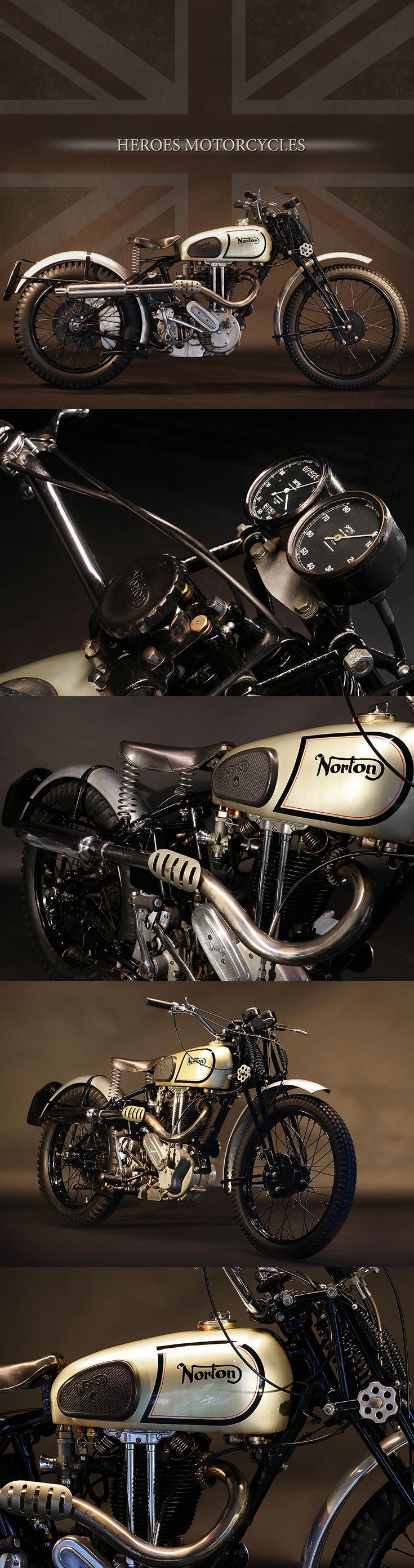 1938 Norton 490cc M18 | UK