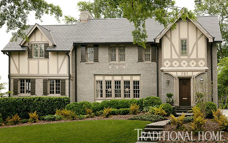 35 best images about exterior ideas on pinterest - Tudor revival exterior paint colors ...