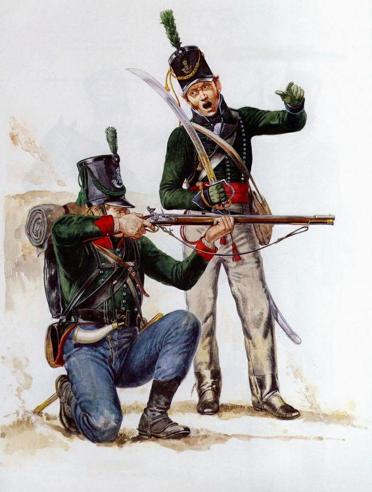 king's german legion rifle battalion uniforms - Google Search