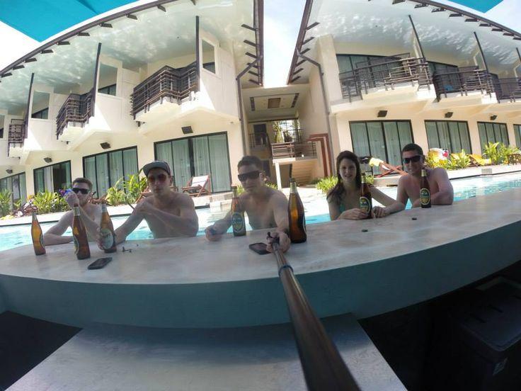 Swim up bar, Koh Samui