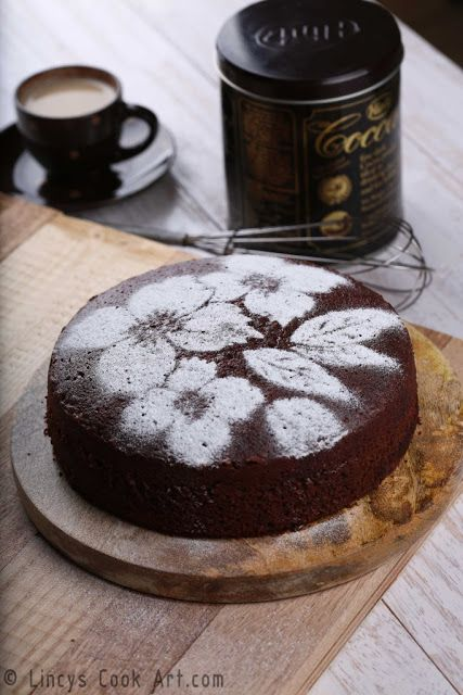 Chocolate Beetroot Cake ~ Lincy's Cook Art