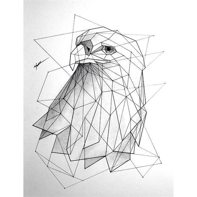 Geometric Line Art Animals : Best ideas about geometric drawing on pinterest