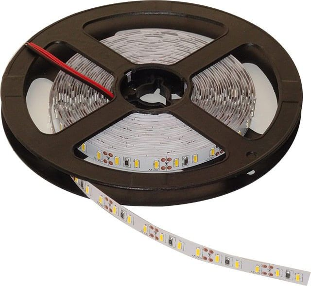 BANDA LED 120x4014 alb cald, face parte din gama profesionala de banda LED 12V, oferind un flux luminos mare si o lumina de calitate superioara. Acest model are un consum de doar 12W pe metru si se poate folosi la interior in diferite aplicatii de iluminat ambiental. Pret per metru.