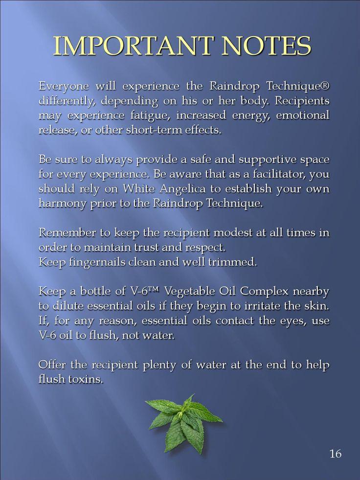 Raindrop Technique Protocol by HealingGlobe - issuu