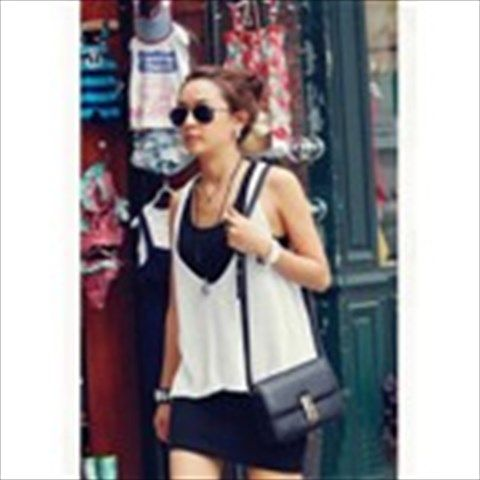 New Arrival Summer Women Twinset One-piece Dress + Woolen Yarn Loose Tank Top for Lady Girl