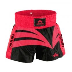 Smart red and black boxing shorts