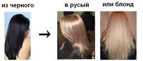 Как успешно перекраситься из черного в блонд (или русый). Инструкция, проверенная на себе