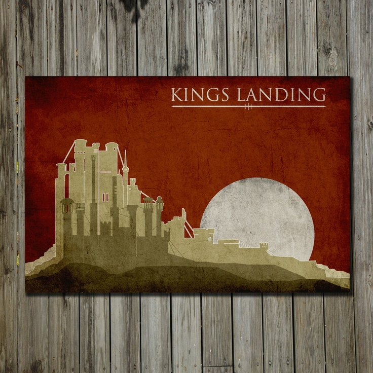 Kings Landing 17x11 #fanart for $18 #gameofthrones