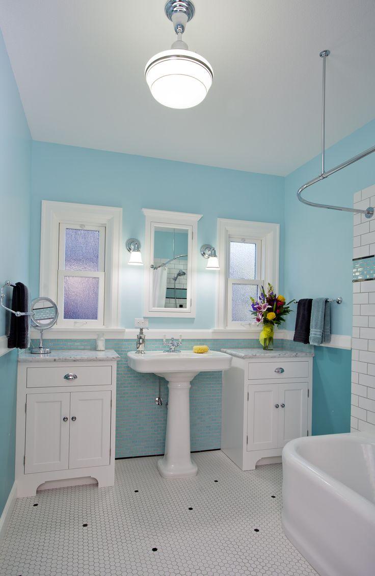 Blue cottage bathrooms - Blue Bathroom Remodel