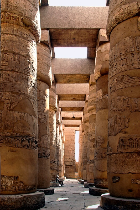 Karnak Temple, Luxor, Egypt. A truly unforgettable experience. Perhaps one of the most extraordinary man-made constructions.