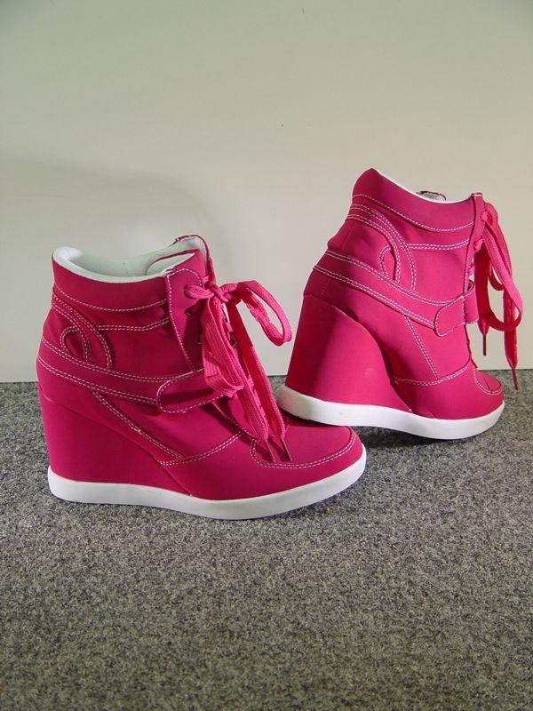 a7243cc9bb7 Laarsjes Met Sleehakken Roze | Hakken - Shoes, Fashion shoes en Footwear