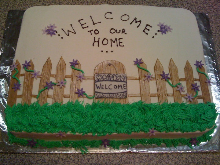 housewarming party cake! : housewarming cake decorating ideas - www.pureclipart.com