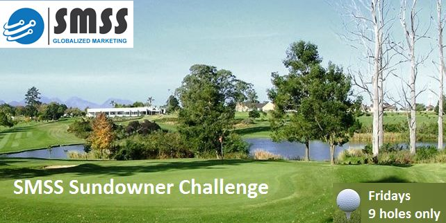 GEORGE GOLF CLUBhosts a 9-hole Sundowner Competitionon Friday afternoons fromOct'15 - Mar'16    Limit available teetimes(15:42 to 16:31 off the 1st or10th tee)(George Golf Club Members only)  GRAND PRIZE  George Golf ClubYearly Membership Fee paid IN