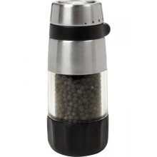 Love this pepper grinder -- you can change how corse you want to grind your peppercorns!