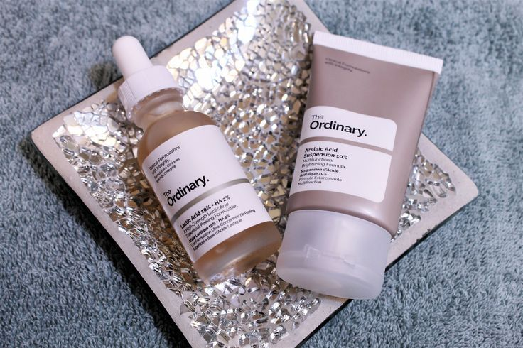 Lactic Acid and Azelaic Acid from The Ordinary: A Review