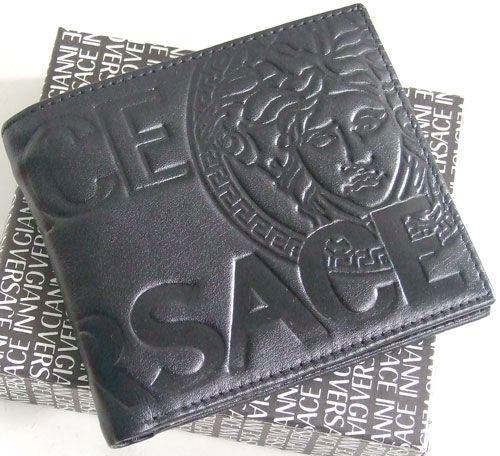 Versace Mens Bifold Wallet Men