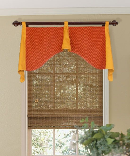 Updated Ideas For Valances Over Blinds