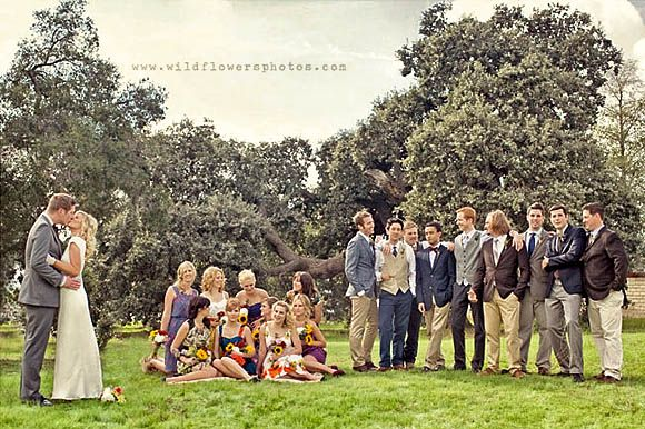 Group Photography Ideas: 20 Creative Wedding Poses for Bridal Party pose 8