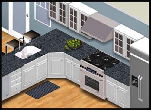 Mer Enn 25 Bra Ideer Om Kitchen Design Program På Pinterest Custom Kitchen Design Cad Software Design Inspiration