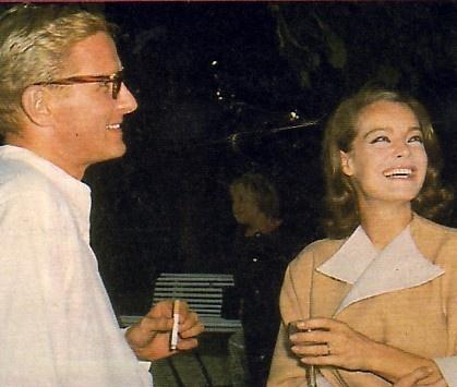 Marriage of Romy Schneider and Harry Meyen, St. Jean Cap Ferrat, July 1966