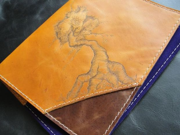 Leather Book Cover Diy : Best leather book covers ideas on pinterest diy