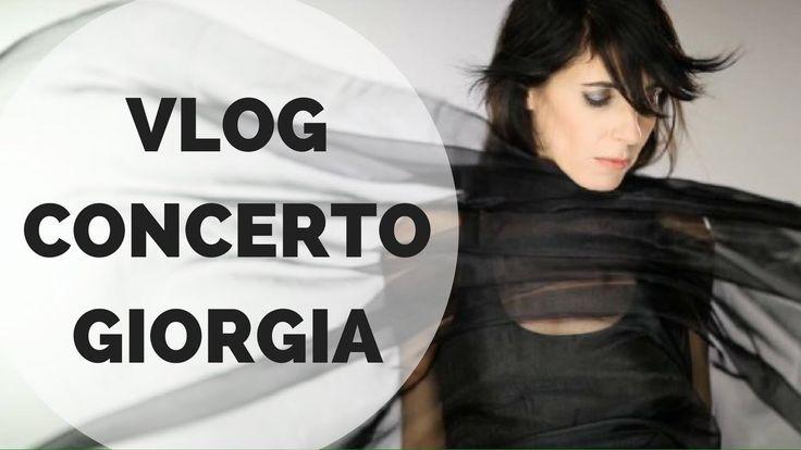 VLOG concerto Giorgia - Marta Aloisi ♥ CornerCurvy