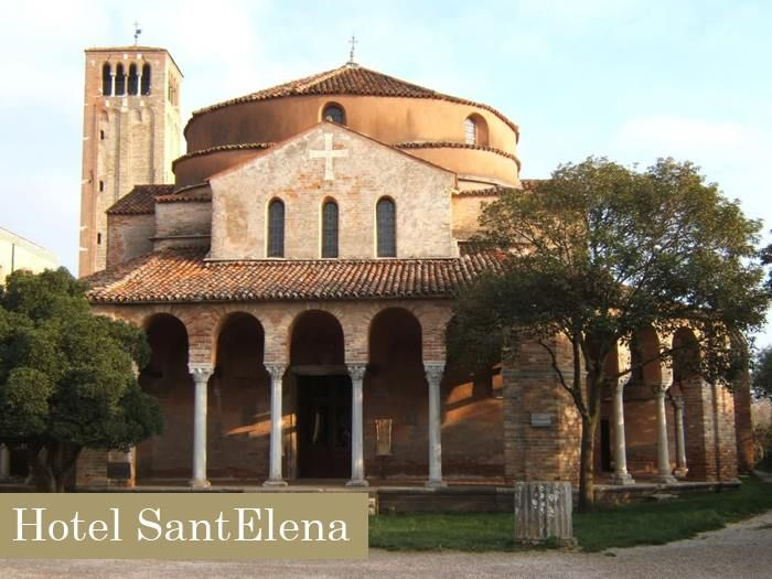 We suggest you a trip to Torcello, quiet and striking island near Venice. You should visit Santa Fosca Church surrounded by a porticus in form of a Greek cross, a notable example of Venetian-Byzantine architecture, one of the most ancient religious edifices in the Veneto region. http://www.hotelsantelena.com/