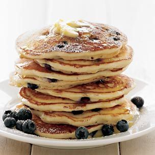 I love blueberry pancakes! They are one of my favorite things in