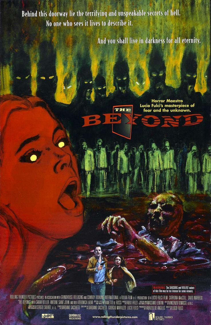 The Beyond / Η 7η Πύλη Της Κολάσεως (1981) ★ Το «The Beyond» περιστρέφεται γύρω από μια γυναίκα που κληρονόμησε ένα παλιό ξενοδοχείο στη Lousiana. Μετά από διάφορα μυστηριώδη συμβάντα «υπερφυσικής» φύσης μαθαίνει ότι το ξενοδοχείο είναι χτισμένο πάνω σε μια από τις πύλες της κόλασης που κρατούν τους νεκρούς μακριά από τον κόσμο των ζωντανών. #TheBeyond #LucioFulci