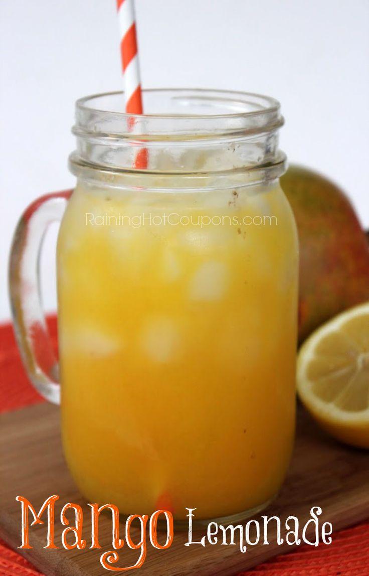 Mango Lemonade add vodka