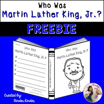 """Who Was Martin Luther King, Jr.?Martin Luther King, Jr. book covers that look just like the """"Who Was"""" book series.  This is part of a larger Black History Month product, Link-BLACK HISTORY MONTH-Represent a man who moved the human race forward.-Can be used to support any text.-Offers different book cover options.-A UNIQUE way for students to display what they've learned.ONE OF A KIND, CREATIVE AND PROMOTE…"""