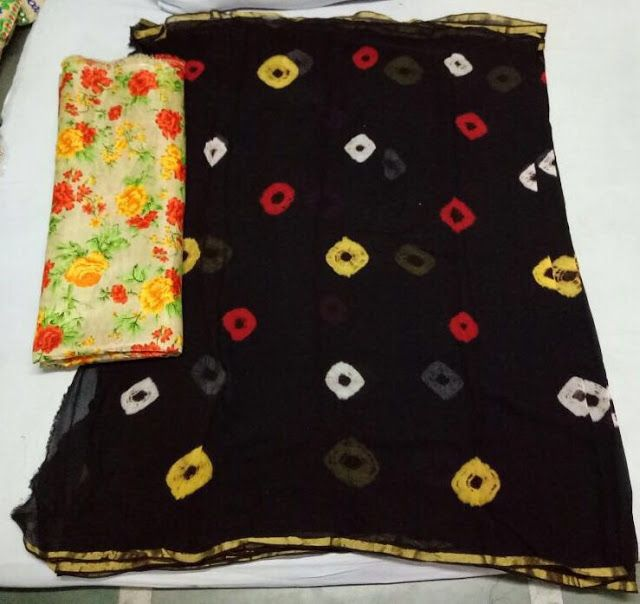 Latest Georgette Sibori Sarees With Blouse | Buy Online Designer Blouse…