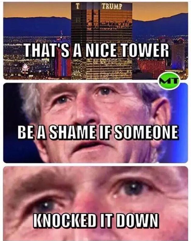 #trump #bush #meme