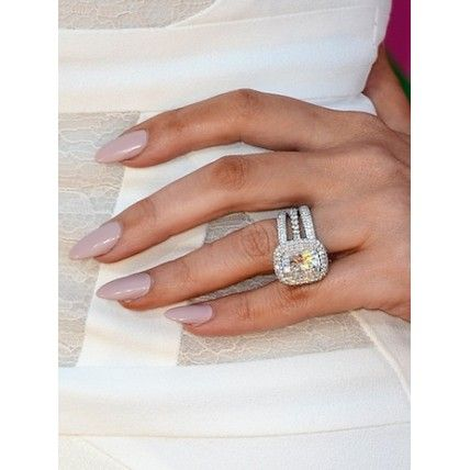 Khloe Kardashian's ring...dream ring.