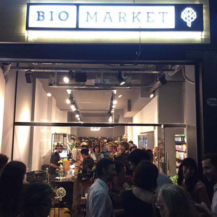 Inauguración de Biomarket: a sala llena!