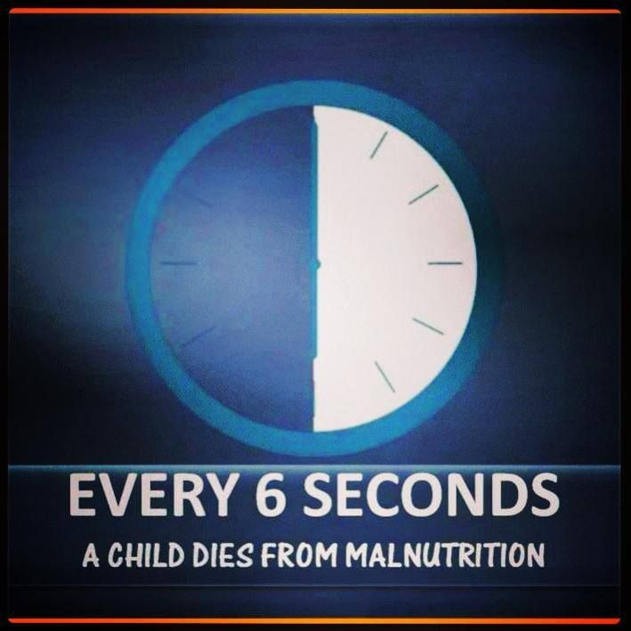 Every 6 seconds a child dies from malnutrition. We have a vision to eliminate global malnutrition and nourish 5 million children. We call is Mission5Million. We need you to join our mission and change the world!
