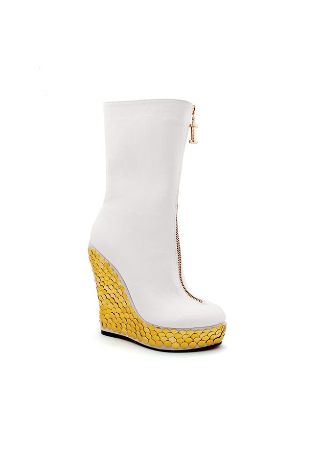 Bej Bot Markafoni'de 159,98 TL yerine 79,99 TL! Satın almak için: http://www.markafoni.com/product/5912780/ #ayakkabi #cizme #bot #topukluayakkabi #moda #markafoni #shoes #shoesoftheday #booties #instashoes #fashion #style #stylish