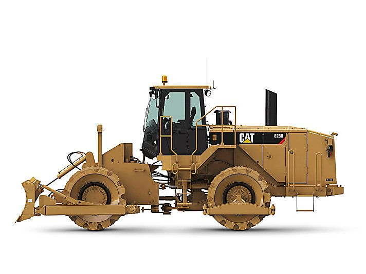 Cat 825h soil compactor caterpillar caterpillar for 98 soil compaction