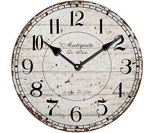 "Schmuckbox 12"" Silent Wall Clock Wood Non Ticking Digital Quiet Sweep Home Decor Vintage Wooden Clocks(number) ¡  #¡ #Clock #Clocksnumber #Décor #Digital #Home #Quiet #RusticWallClock #Schmuckbox #Silent #Sweep #Ticking #Vintage #Wall #Wood #Wooden The Rustic Clock"