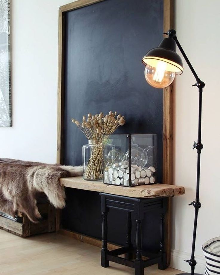 Home Decorating Ideas Rustic Love The Giant Chalkboard   Rustic And  Industrial