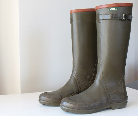 I live in LA so I don't really need rainboots. but I would go Aigle for the classic boot if I needed them.