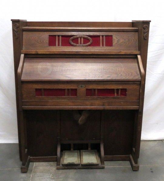 This vintage German Pump Organ is the ultimate fixer upper!