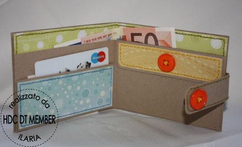 """Hobby di Carta - Il blog: PROGETTO DELLA SETTIMANA: """"Paper-Portafoglio"""" by ilaria"""